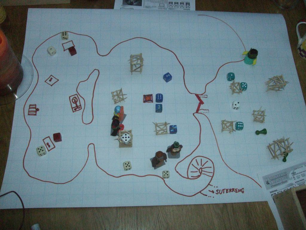 Flipchart map